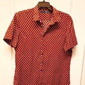 Men's Short Sleeve Button Down Shirt Size XXL